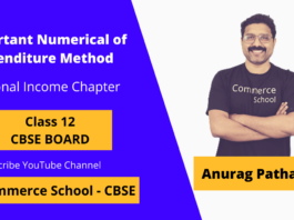 important numerical of expenditure method of national income class 12 CBSE Board