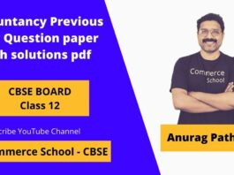 cbse class 12 accountancy previous year question paper