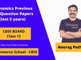 CBSE Class 12th Economics Previous year question paper with solutions free pdf download (last 5 year)