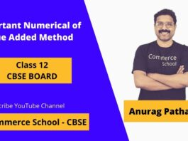 important numerical of value added method of national income class 12 cbse board