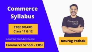 commerce syllabus cbse board 11 and 12 class